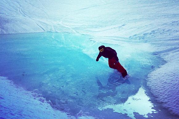 Pro Ride Camps Snowboard coach Alan Gautier Whistler