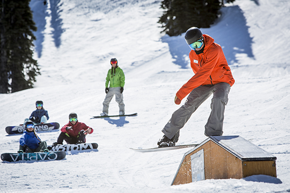 whistler freestyle snowboard camps