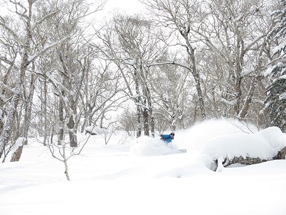 Vincent Genannt snowboarder in Japan